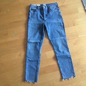AGOLDE Nico Hi Rise Slim Jeans
